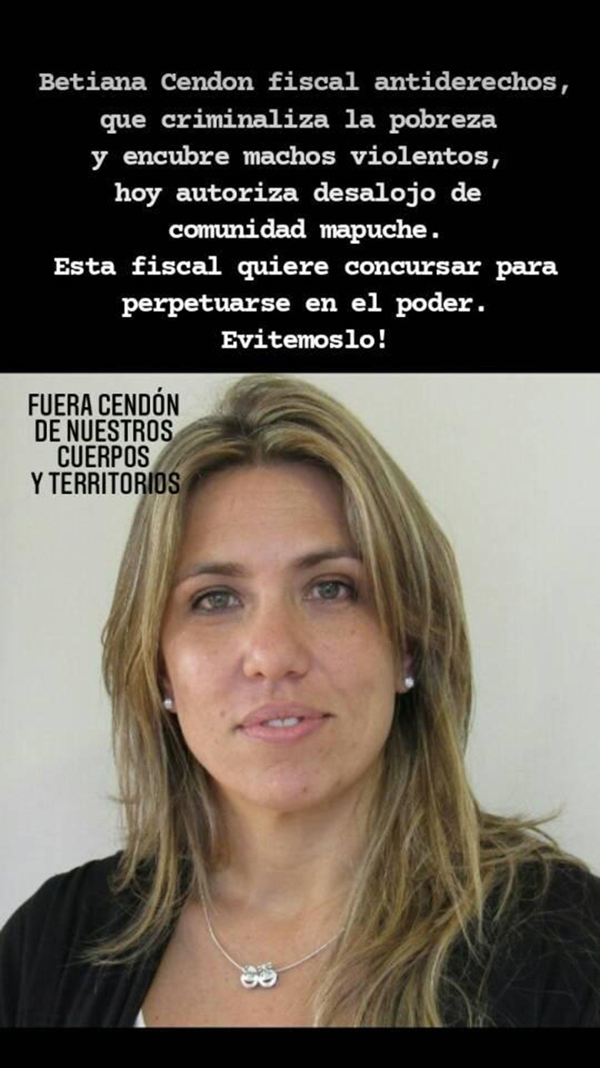 escrache fiscal villa Mascardi