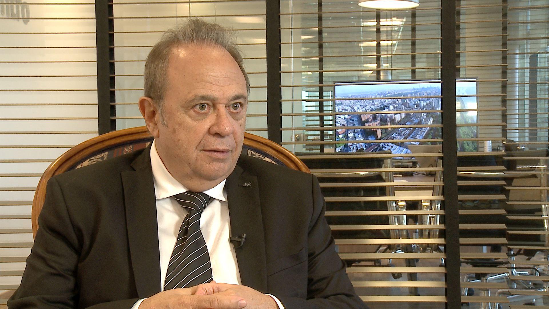 El ex presidente de la Cámara de Diputados Alberto Pierri