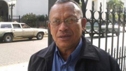 Andrés Escalona, presidente de la Asociación de funcionarios jubilados de Dgcim