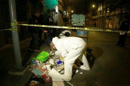 Un hombre fue detenido cuando transportaba los cadáveres de los menores en calles del centro de la capital (Foto: Cuartoscuro)