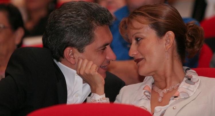 Yarrington con su esposa María Antonieta Morales (Foto: Cuartoscuro)