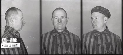 Franciszek Gajowniczek rememoró el día en que los SS los hicieron formar en fila y eligieron diez hombre para condenar a muerte por el prisionero que había logrado huir (Memorial Auschwitz)