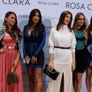 Photo © 2019 Backgrid UK/The Grosby Group Spain: Lagencia Grosby SPAIN OUT Barcelona, SPAIN Apr 25, 2018 The wives and girlfriends of Barcelona's players attend the Rosa Clará Couture fashion show in Barcelona Pictured: Antonella Roccuzzo (Lionel Messi's wife) BACKGRID UK 25 APRIL 2019