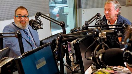 Lanata y Longobardi hablaron del tema en el pase que comparten en radio