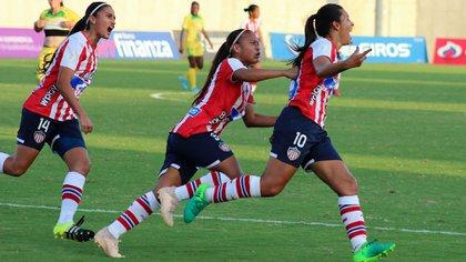 La Liga profesional femenina de fútbol debutó en Colombia en 2017 (Redes Sociales)