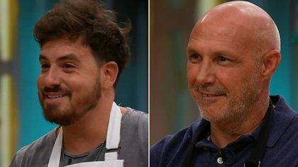 Fed பால் e Paul dimite, despedido por primera vez de la segunda temporada de la celebridad de Mariano della Libera Masterkef