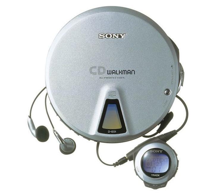 El primer Discman de Sony se comenzó a comercializar en 1984.