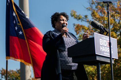 Stacey Abrams. REUTERS/Brandon Bell