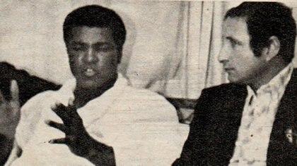 Cherquis Bialo con Alí (Crédito: Archivo de El Grafico de Maximiliano Roldán)