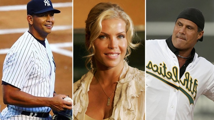 Alex Rodriguez, Jessica Canseco y Jose Canseco