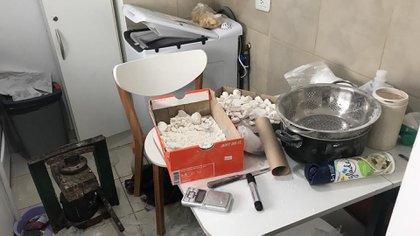 La cocina desmantelada