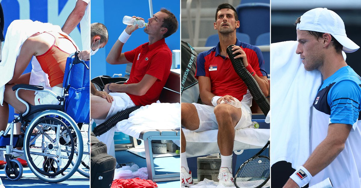 El comunicado oficial de la ITF ante las polémicas por el sofocante calor en el tenis olímpico - Infobae