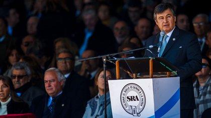 Daniel Pelegrina, presidente de la Sociedad Rural Argentina