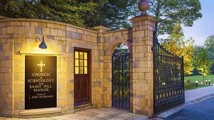Iglesia de la Cienciología tiene un gran terreno (Foto: scientology.org)