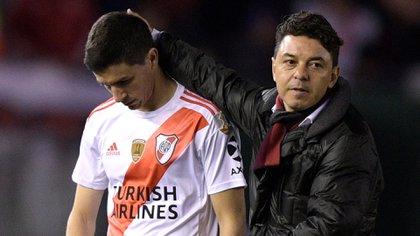 Nacho Fernández, junto a Enzo Pérez, es de los jugadores imprescindibles para Gallardo. Una categoría a la que llegan pocos.