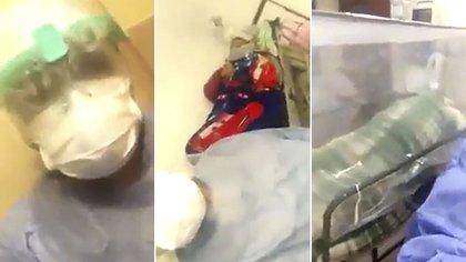 El video de la enfermera se hizo viral