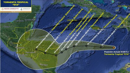 Conagua informó que ya se igualó el récord del número de tormentas de la temporada 2005 (Foto: Conagua)