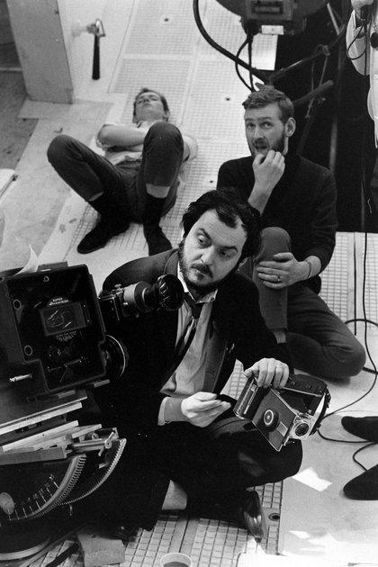 "Kubrick filmando ""2001: una odisea al espacio"" (Photo by Dmitri Kessel/The LIFE Picture Collection/Getty Images)"