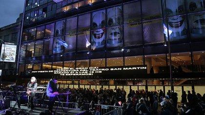 Teatro San Martín (Foto: Gobierno de la Ciudad)