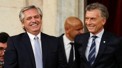 El Presidente cuestionó a su antecesor en el cargo Mauricio Macri (REUTERS/Agustin Marcarian)