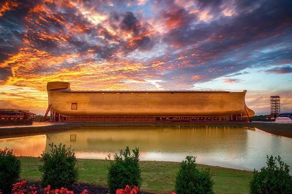 Un grupo creacionista construyó una versión Disneyworld del Arca de Noé