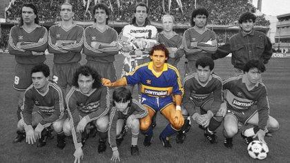Cabañas fue un jugador clave en el equipo de Boca que se consagró campeón en 1992