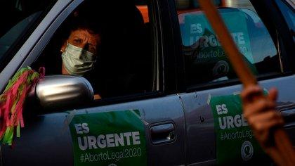 """""""Es urgente, Alberto"""", fue la forma de ejercer presión de los feminismos (Nicolás Stulberg)"""