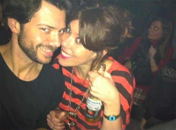 Álvaro Morte y Blanca Clemente (Instagram)