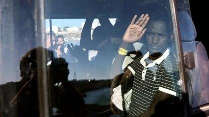 """La ONG española indicó que los migrantes se encuentran en estado """"crítico"""" (REUTERS/Guglielmo Mangiapane)"""