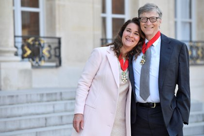 La ex pareja anunció que seguirás trabajando juntos en su fundación