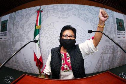 Dip. Maria Roselia Jimenez Perez . (Foto: PT Chiapas, Twitter)