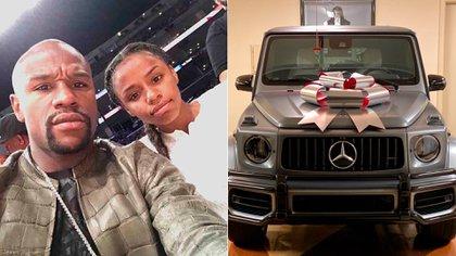 Floyd Mayweather le regaló una camioneta Mercedes-Benz de lujo a su hijo mayor (@floydmayweather)