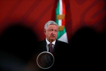 López Obrador en su conferencia de prensa el 9 de marzo. (Foto: REUTERS/Henry Romero)