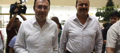Luis Videgaray y César Duarte (Foto: especial)