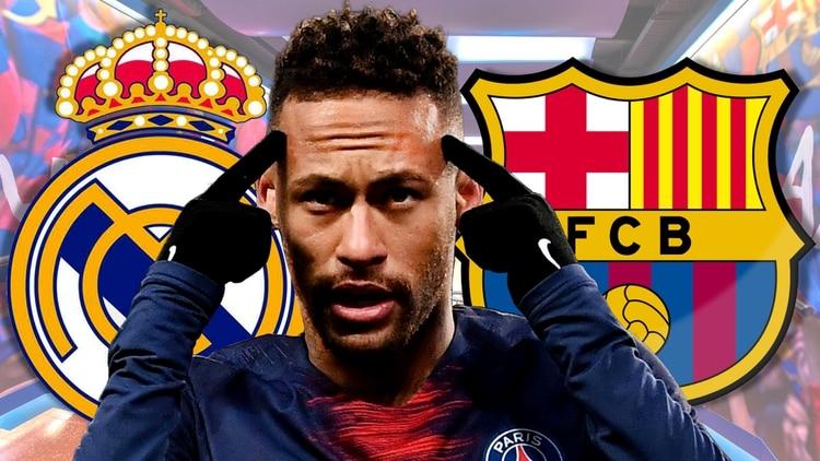 El futuro de Neymar estaría entre Real Madrid y Barcelona