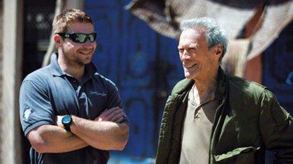 Kevin Lacz y Clint Eastwood en el set de 'El francotirador' (Kevin Lacz)