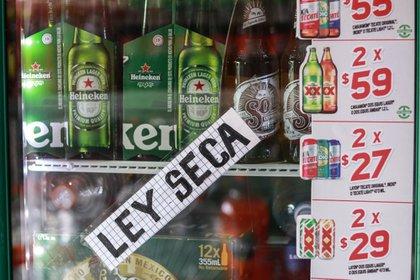 Ley Seca en la CDMX  (Foto: Cuartoscuro)