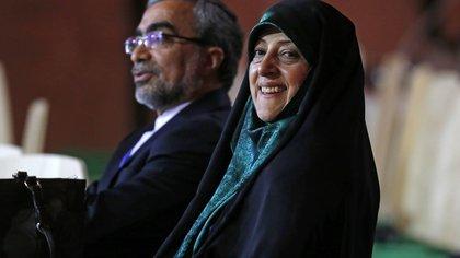 Masumeh Ebtekar (AP Photo/Michel Euler, File)