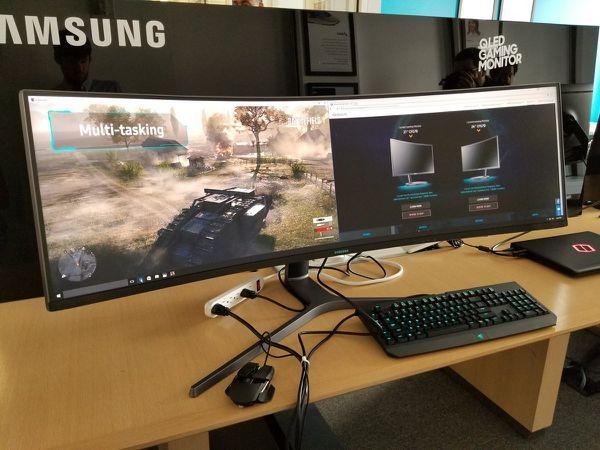 El monitor ultra ancho con el que sueñan los fanáticos de los videojuegos