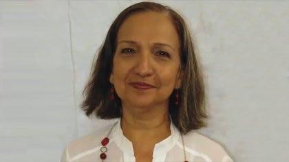 Felipa Obrador, prima hermana del presidente AMLO (Foto: Laboratorios Litoral)