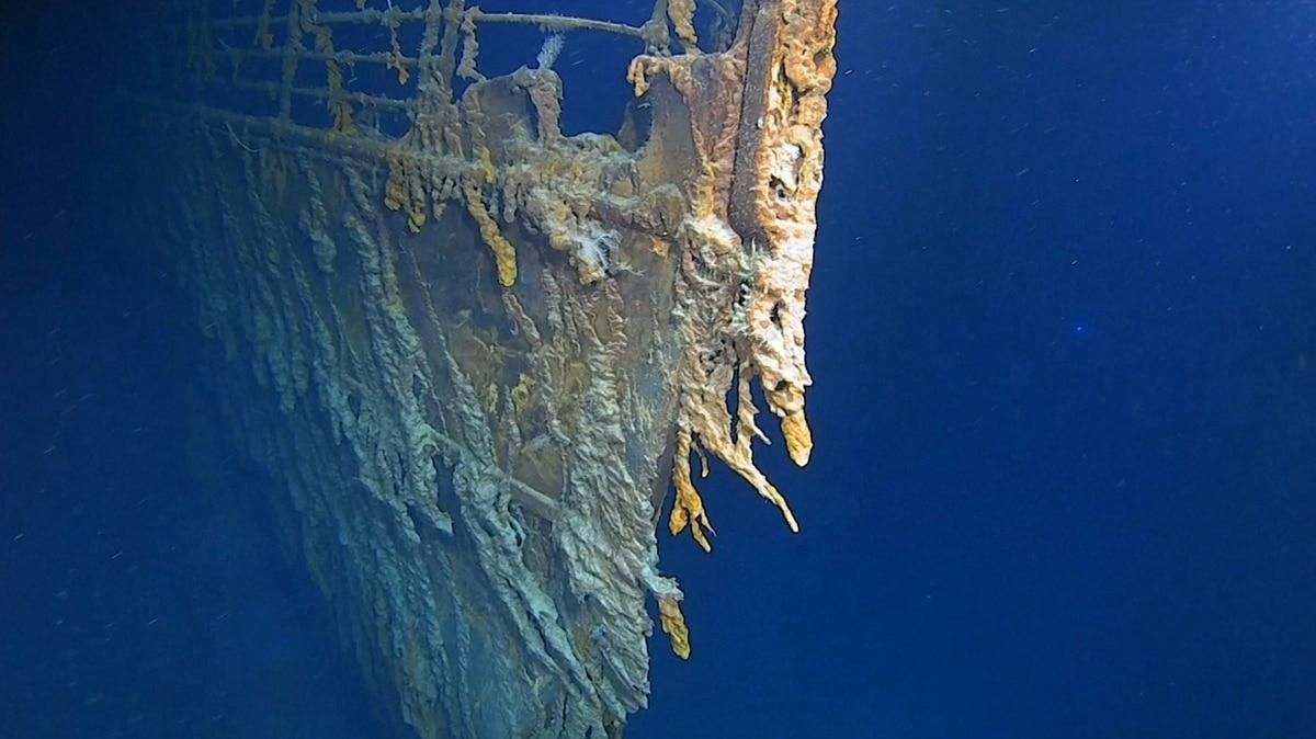 Las sorprendentes nuevas imágenes del Titanic fueron mostradas por exploradores marinos