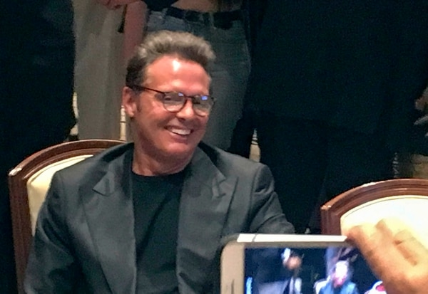 Luis Miguel (Photo © 2018 MSN/The Grosby Group)