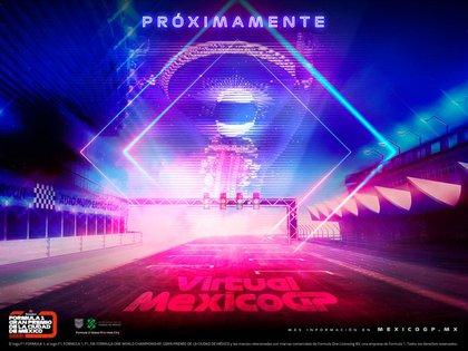 Son diversas las actividades que se han programado para la versión virtual del Gran Premio de México (Foto: Twitter@mexicogp)