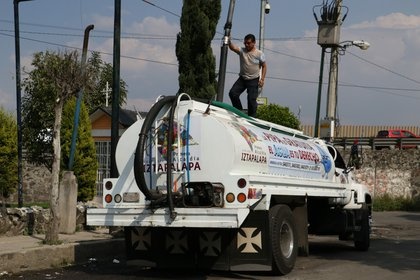 Libertad ha sido vinculado con el robo de agua para surtirlo al Aeropuerto de la capital (Foto: SAÚL LÓPEZ /CUARTOSCURO.COM)