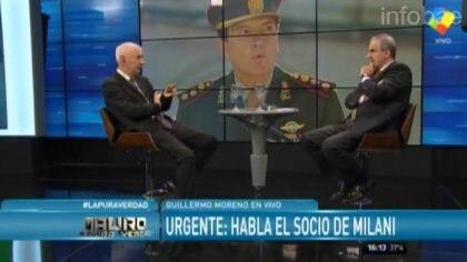 Mauro Viale en su programa de América