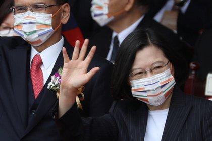 Tsai Ing Wen aseguró que fortalecerá sus relaciones militares con países vecinos