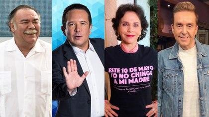 Foto: Jesus Ochoa / IG, Daniel Bisogno / IG Pati Chapoy / IG - Gustavo Adolfo Infante / TW (Sale el sol) - mexico - 31072020