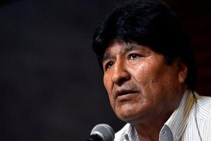 Evo Morales. Foto: REUTERS/Mario De Fina