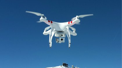 Los drones DJI Phantom, en sus diferentes series, son los más vendidos en la Argentina. Su costo arranca en los $7000 para aparatos usados y $10.000 nuevos