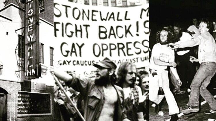 Los disturbios en Stonewall motivaron a la organización y lucha por los derechos LGBT (Foto: instagram stonewall inn)